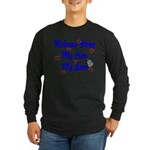 Welcome Home Hero Love Long Sleeve Dark T-Shirt
