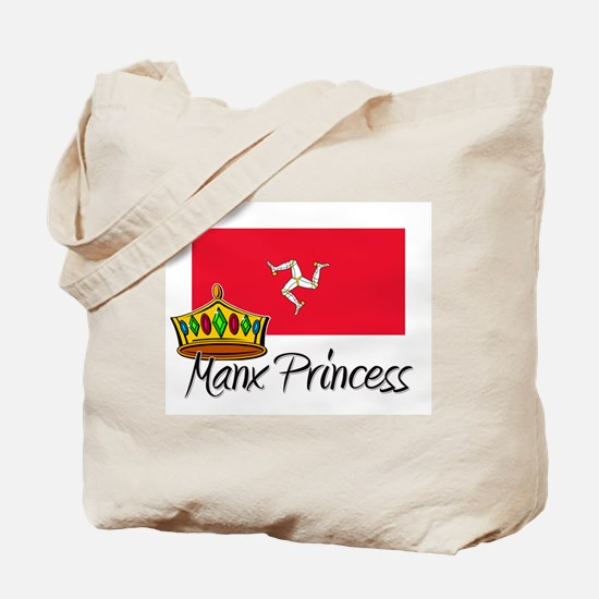 Manx Princess Tote Bag
