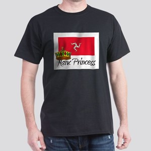 Manx Princess Dark T-Shirt