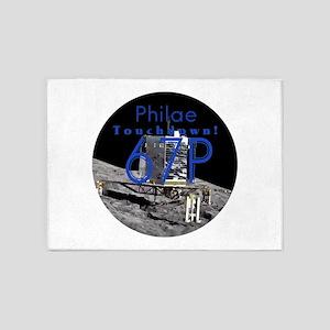 Philae Has Landed! 5'x7'Area Rug
