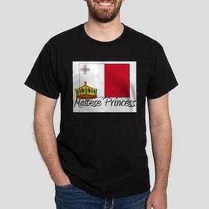 Maltese Princess Dark T-Shirt