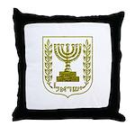 Israel Emblem Throw Pillow