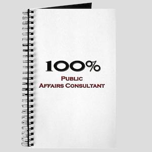100 Percent Public Affairs Consultant Journal