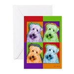Wheaten Terrier Greeting Cards (Pk of 10)