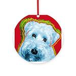 Wheaten Terrier Ornament (Round)