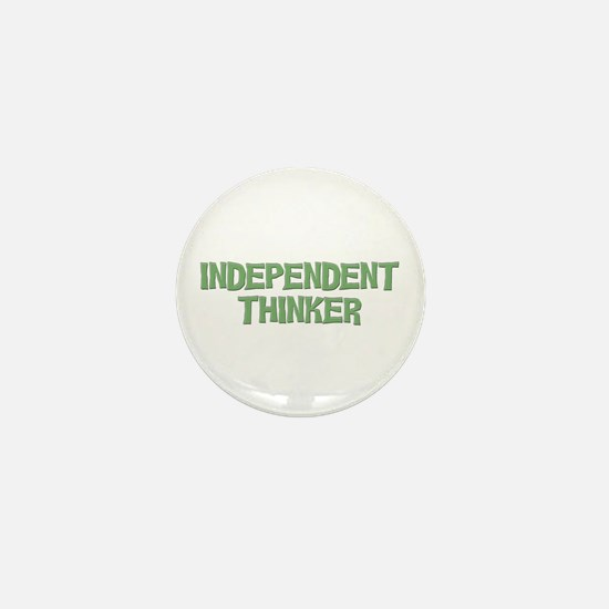 Independent Mini Button