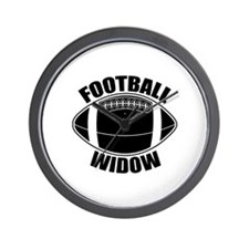Football Widow Wall Clock