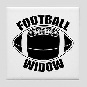 Football Widow Tile Coaster