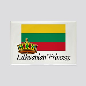 Lithuanian Princess Rectangle Magnet