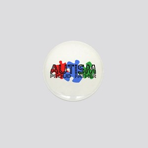 Autism - Proud Father Mini Button