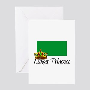 Libyan Princess Greeting Card