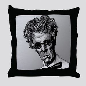 W.B. Yeats Throw Pillow