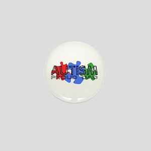 Autism - Proud Dad Mini Button