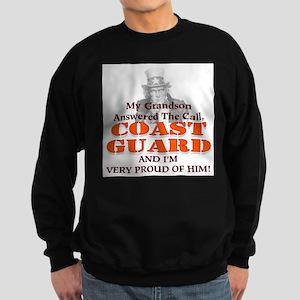 My Coast Guard Grandson Answered Sweatshirt