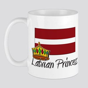 Latvian Princess Mug