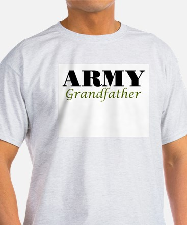 Army Grandfather Ash Grey T-Shirt