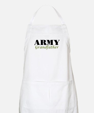 Army Grandfather BBQ Apron