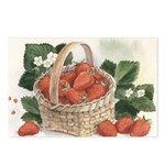Strawberry Basket Postcards (Package of 8)