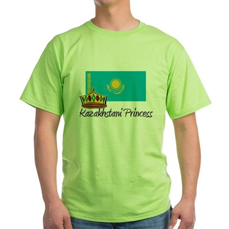 Kazakhstani Princess Green T-Shirt