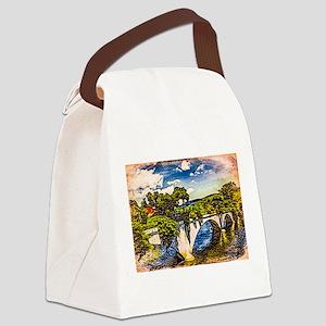 Nubble Lighthouse 2 Canvas Lunch Bag