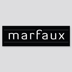 Marfaux Bumper Sticker