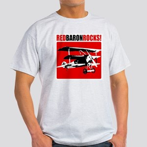 Red Baron Rocks! Light T-Shirt