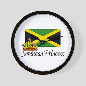 Jamaican Princess Wall Clock