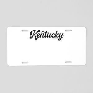 Kentucky Aluminum License Plate