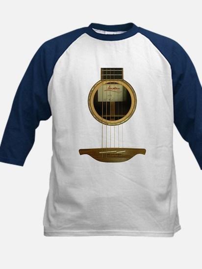 Irish Acoustic GuitarKids Baseball Jersey