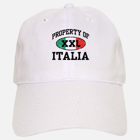 Property of Italia Baseball Baseball Cap