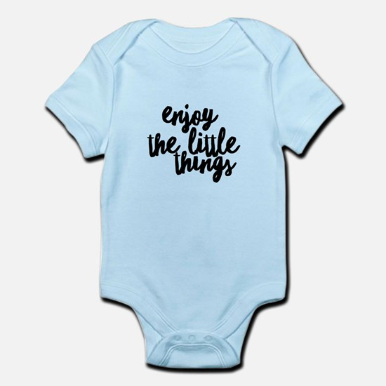 Enjoy The Little Things For Motivation Body Suit