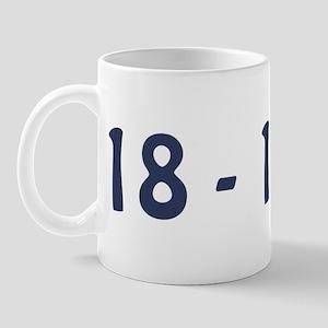 Giants Super Bowl Champs (18-1) Mug