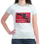 Free Men Own Guns Jr. Ringer T-Shirt