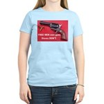 Free Men Own Guns Women's Light T-Shirt