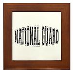 National Guard Framed Tile