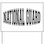 National Guard Yard Sign