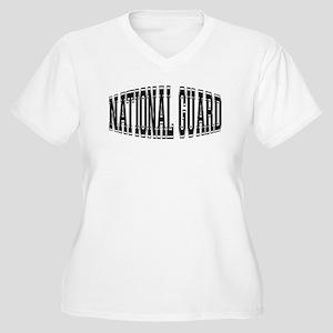 National Guard Women's Plus Size V-Neck T-Shirt