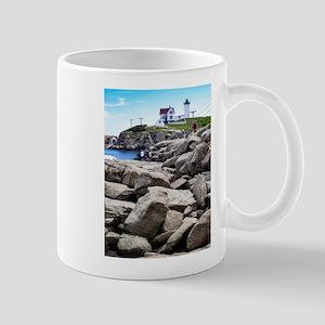 Nubble Lighthouse 1 Mugs