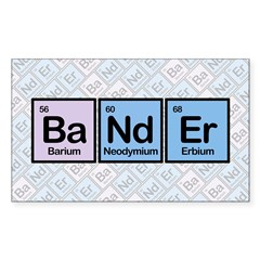 Elements of Banding Sticker (Rectangle)