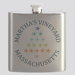 Summer Martha's Vineyard- Massachusetts Flask