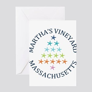 Summer Martha's Vineyard- Massachus Greeting Cards