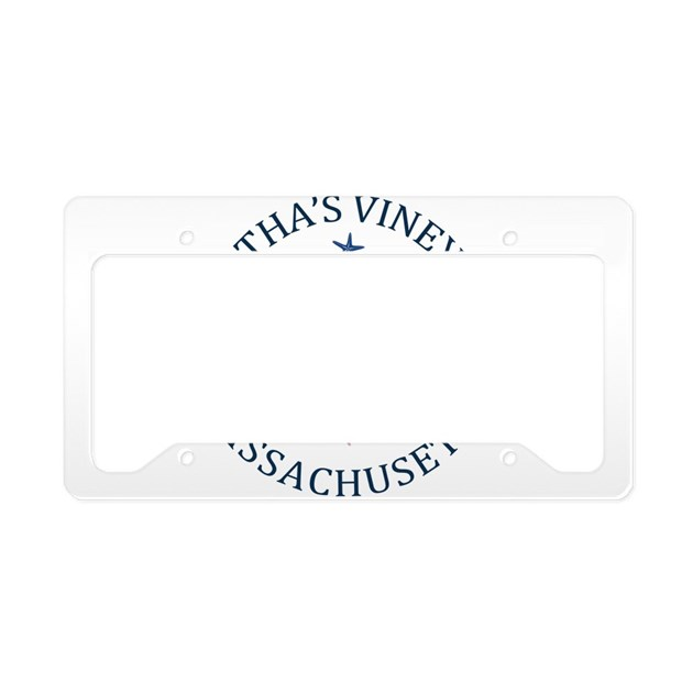 Summer Martha S Vineyard Mas License Plate Holder By
