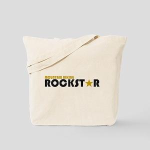 Mountain Biking Rockstar Tote Bag