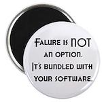 Failure Is NOT An Option Magnet