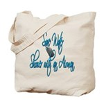 Shower with an Airman Tote Bag