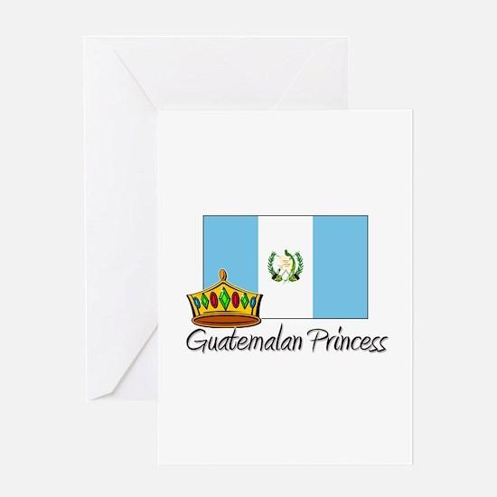 Guatemalan Princess Greeting Card