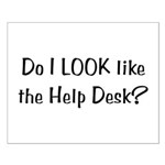 Help Desk Small Poster