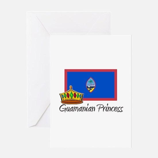 Guamanian Princess Greeting Card