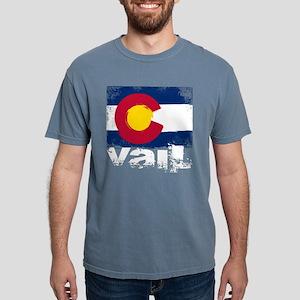 Vail Grunge Flag T-Shirt