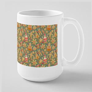 1950 vintage christmas gingrbread Mugs